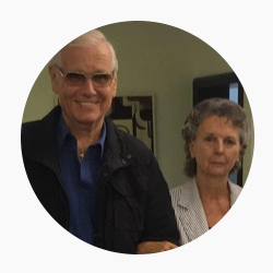 Fritz (80) & Hildegard (76) T. aus München