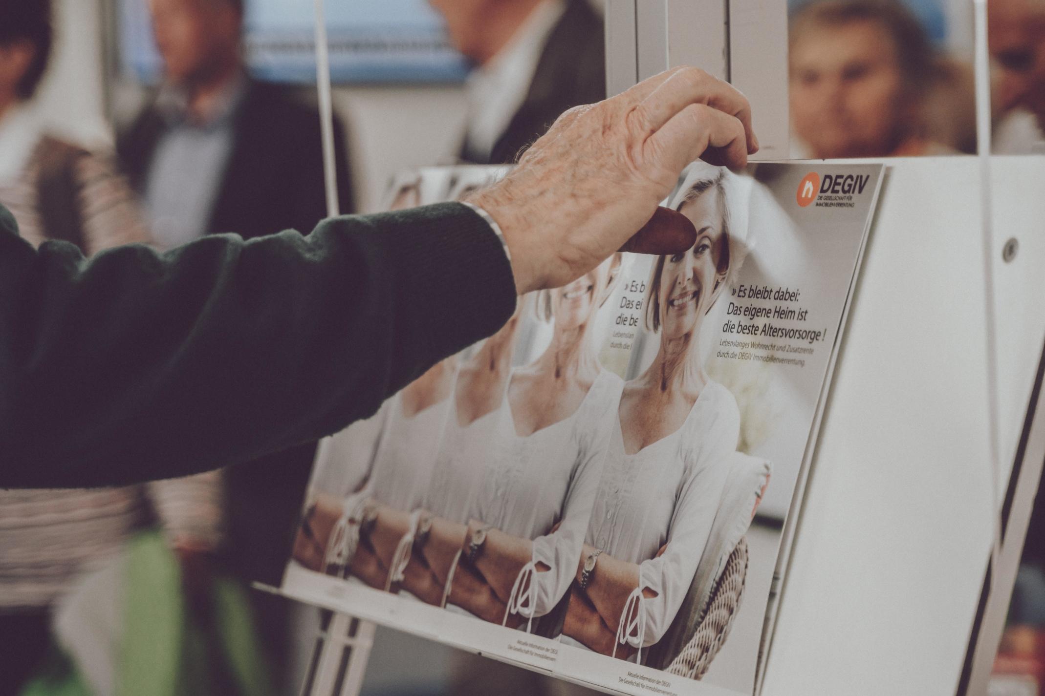 """DEGIV-Fazit der 50plus-Messe """"Die 66"""" - Thema Immobilienverrentung nimmt deutlich an Fahrt auf"""