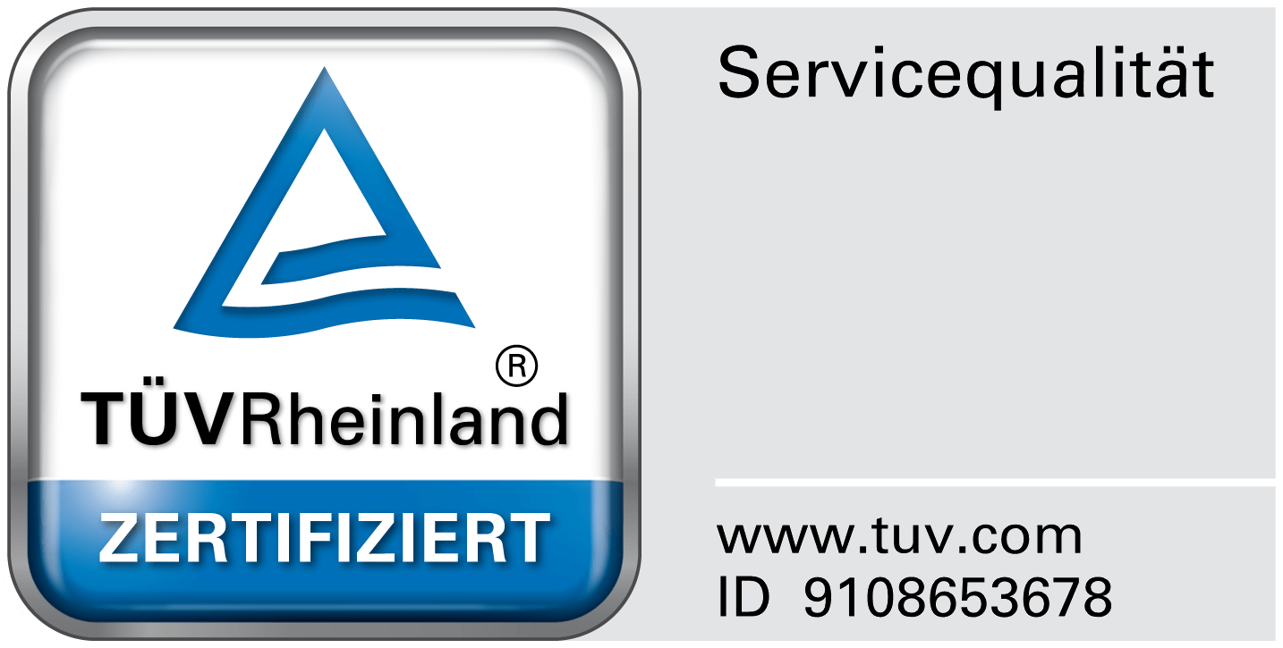 TÜV-geprüfter Service