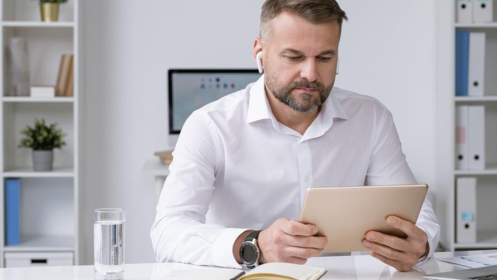 Online Meeting mit Verrentungsexperten