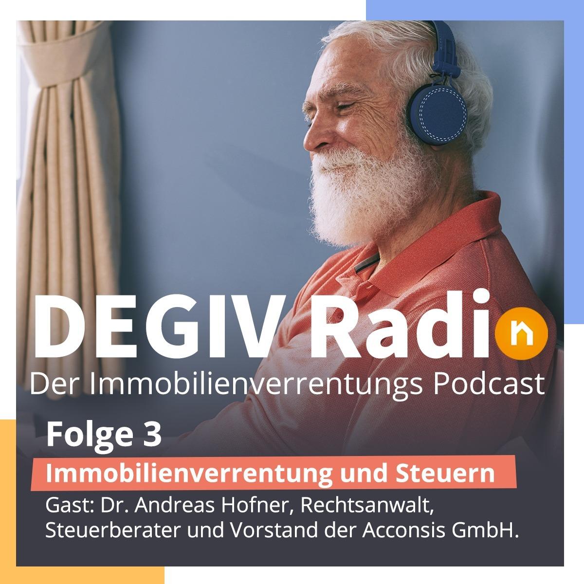 DEGIV Radio - 03: Immobilienverrentung und Steuern