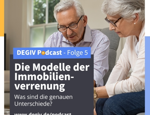 DEGIV Pod­cast – 05: Die Model­le der Immobilienverrentung