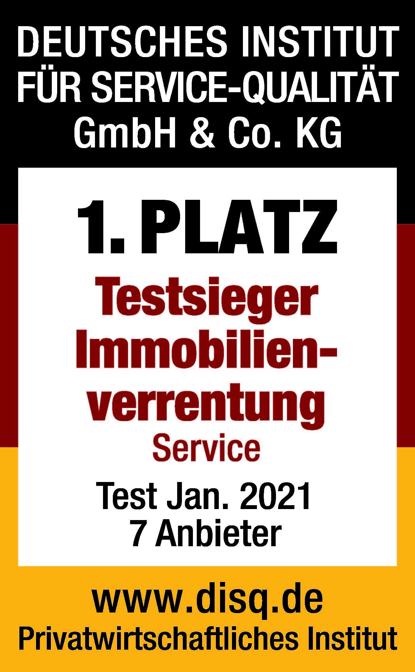 DEGIV Testsieger Immoblienverrentung Service