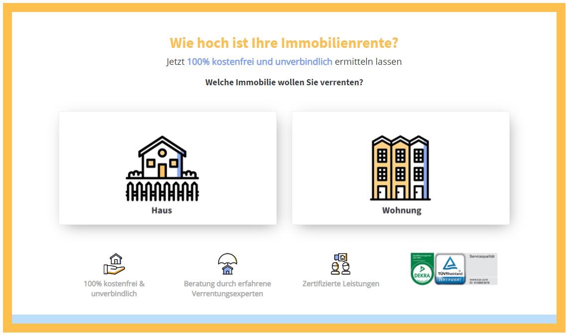 Immobilien-Rente ermitteln