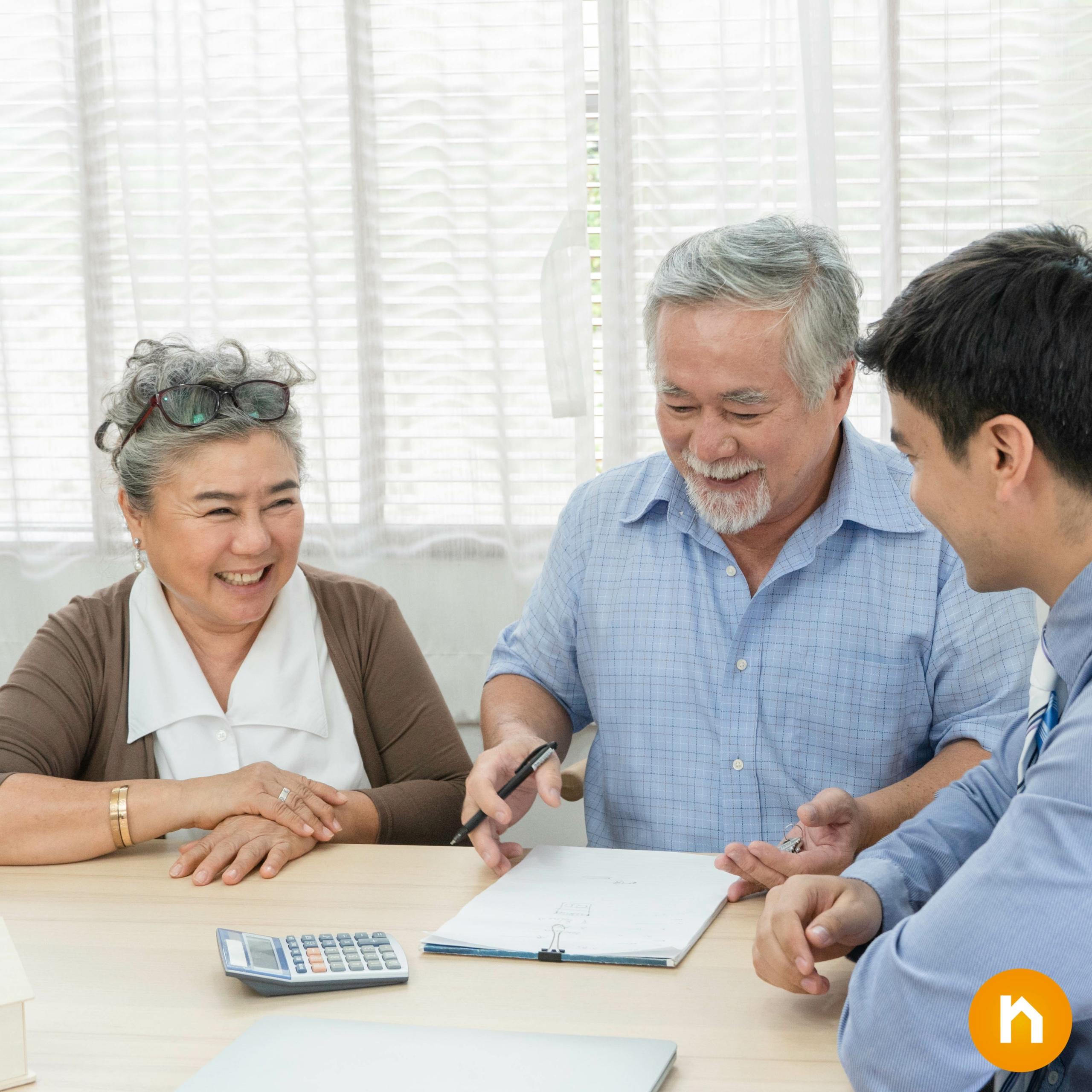 Senioren regeln ihr Erbe